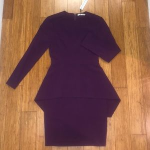 Purple Alice & Olivia Dress Size 0 NWT Rare